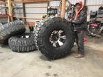 """54"""" swampers dick cepek 20"""" wheels"""
