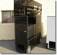 Lg PitBox with Seat Top Tool Box  for sale $11,000