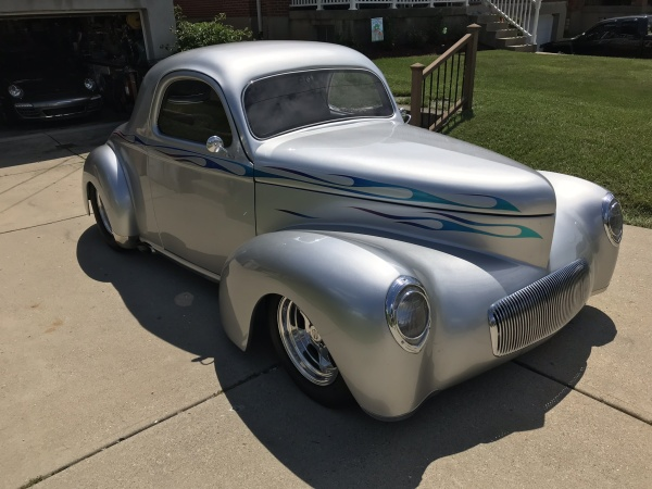1941 Willys overland coupe