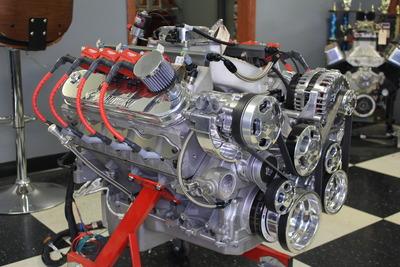 Nitrous LS3 Crate Engine: 620 hp-motor, 845 hp-spray