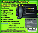 Racepak Stock / Super Stock data logger kit  for sale $1,820