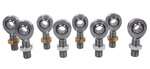5/8 X 3/4-16 Chromoly 4 Link Rod End Kit With Jam Nuts