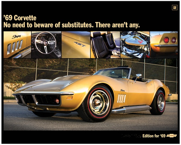 1969 Convert. 427 3x2 Tri-Power 4-Speed NCRS Top Flight!!!  for Sale $79,000