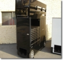 Lg PitBox with Seat Top Tool Box