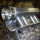 FRONT THROTTLE BODY INTAKES  125MM