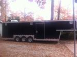 28 'enclosed cargo trailer
