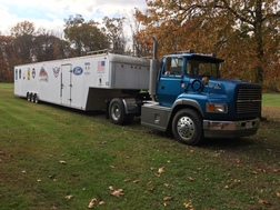 1996 FORD TRACTOR & 1997 UNITED TRAILER  for sale $29,500