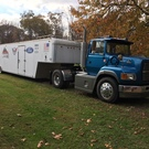 1996 FORD TRACTOR & 1997 UNITED TRAILER