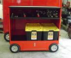"26""x58""x55"" Supply Cart"