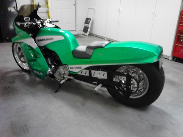 1982 KZ 1000 (1425cc) Street legal drag bike  for Sale $17,500