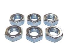 3/4-16 Steel RH Jam Nuts (Sold In Packs Of 6)