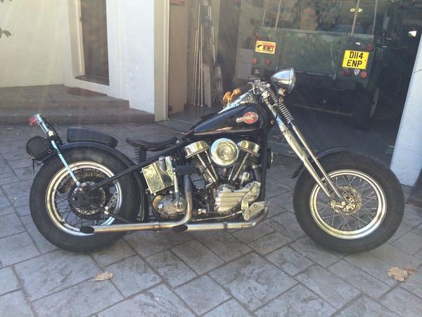 """EX-Bandito, 1954 Harley-Davidson 74"""" FL Bobber  for Sale $27,500"""