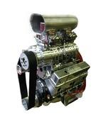 406 Small Block Chevy Blower Engine