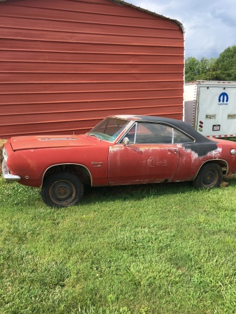 1968 Plymouth Barracuda  for Sale $4,500