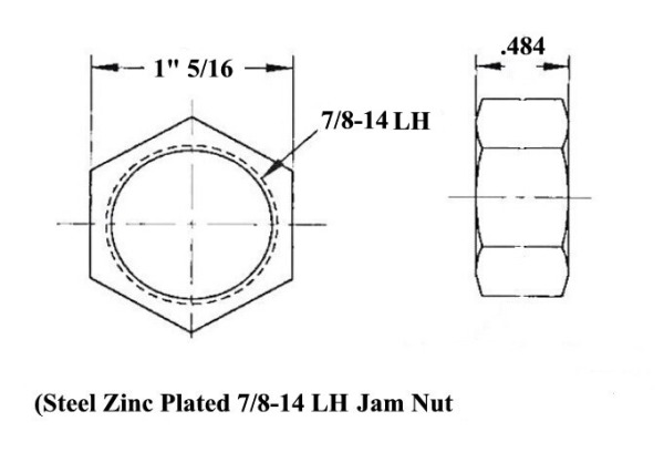 7/8 Moly Panhard Bar Kit With 7/8 to 3/4 HMS & .250 Bung  for Sale $108.50