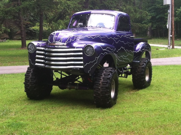 Flying Pit BEAST!  Immaculate 1953 Chevy Fiberglass Bogger  for Sale $47,000