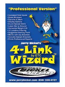 4-LINK WIZARD Professional Version Bickel