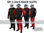 PROFOX Nomex Racing Driver Fire Suits