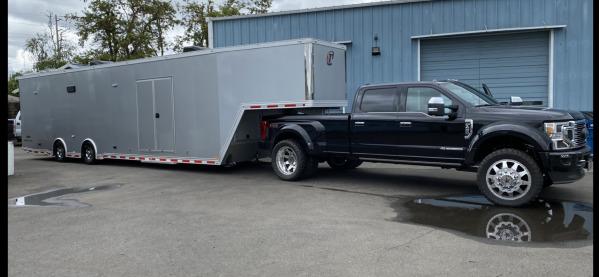2020 42 foot Intech I-Con Gooseneck loaded 102 inch wide bod