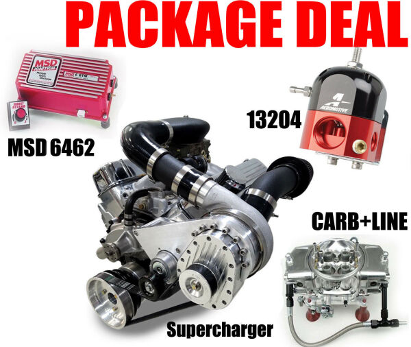 TORQSTORM SUPERCHARGER SYSTEM FOR BIG BLOCK CHEVY COMBO   for Sale $4,625