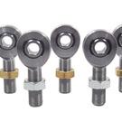 Sprint Car 1/2 X 5/8-18 Chromoly Rod End Kit With Jam Nuts