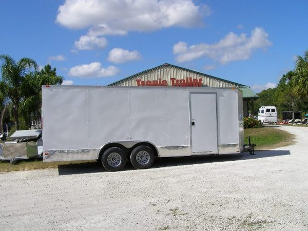South Ga Cargo 8.5x20 Enclosed