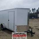 **NEW** 6X12 Single Axle Enclosed Cargo Trailer
