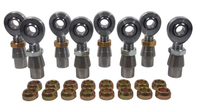 5/8 x 3/4 Chromoly 4 link Kit With 5/8 Cone & .095 Bung