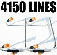 DUAL INLET 4150 BLOWER STAINLESS LINES HOLLEY