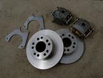 """9"""" Ford Weld-On Disc Brake Kit"""