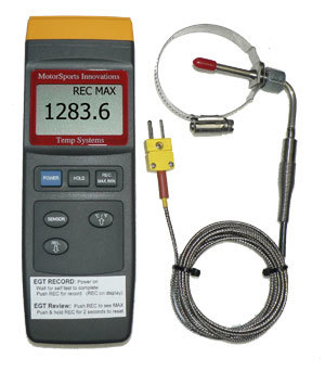 tune with EGT - E85 - Gas - Alky