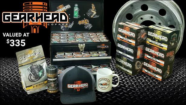 RacingJunk.com 2021 Gearhead Coffee Giveaway