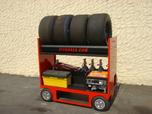 Tire Rack Cart 26x58 handles 54T for Sale $2,200