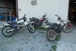 81' Yamaha TT500 and XT 500's
