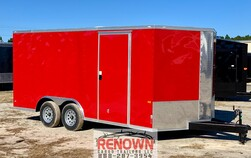 ***NEW*** 8.5X16 Tandem Axle Enclosed Cargo Trailer  for Sale $7,705