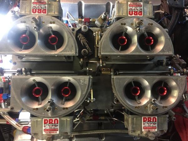 Bucks Race Engine carburetors  for Sale $2,500