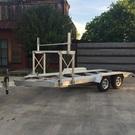 Trailex 21' 8055 Open Aluminum Car Hauler Trailer
