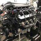 1,050 hp, 6.0L Single Turbo LS Engine