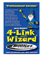 4-LINK WIZARD Professional Version Bickel  for sale $129