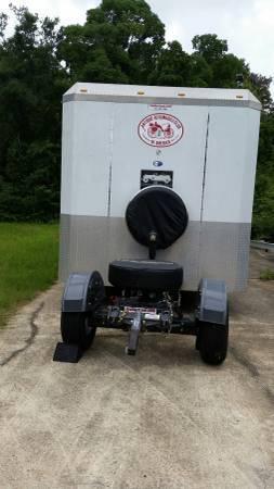36 ft custom enclosed & trailertoad  for Sale $18,000