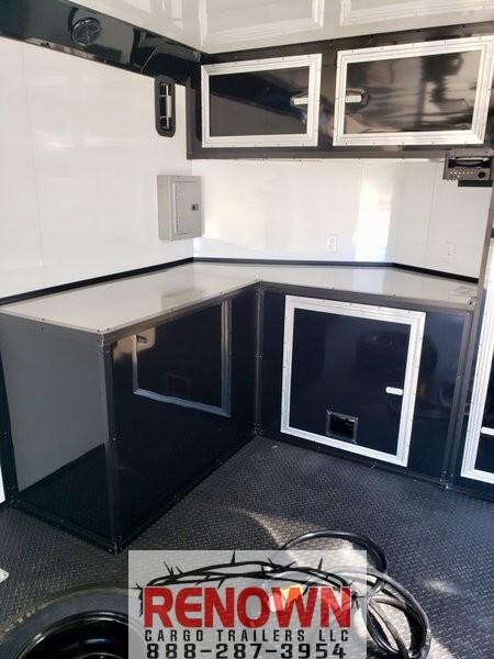 8.5x24TA3 Black/Blackout Racing Trailer  for Sale $30,399