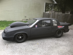 87 OLDS CALAIS ROUNDTUBE CHASSIS ROLLER