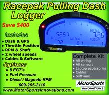 Racepak Logger Dash for Pulling  for sale $2,600