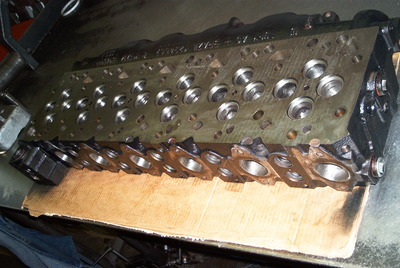 CNC PORTED 24 VALVE CUMMINS HEAD