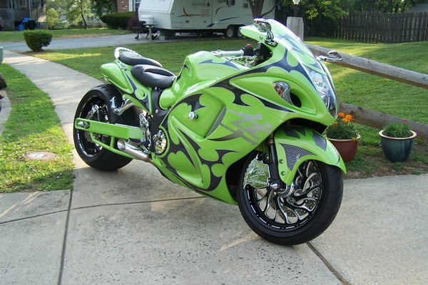 2008 custome Hayabusa