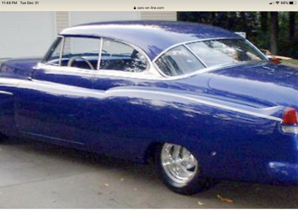 1951 Cadillac Series 62  for Sale $44,000