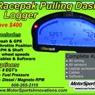 Racepak Logger Dash for Pulling