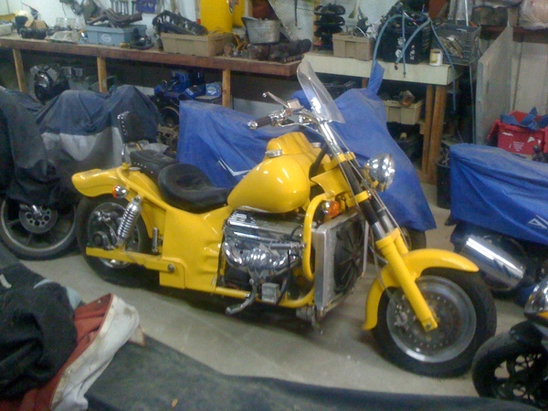 Boss Hoss 95/2010 Corvette motor