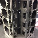 "Custom Dart Aluminum LS Next Blocks - 1/2"" Heads Studs"