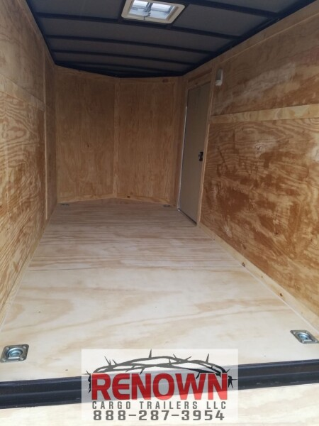 **NEW** 6X12 Single Axle Enclosed Cargo Trailer   for Sale $4,245